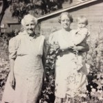 Gloria with Mother and Grandmother